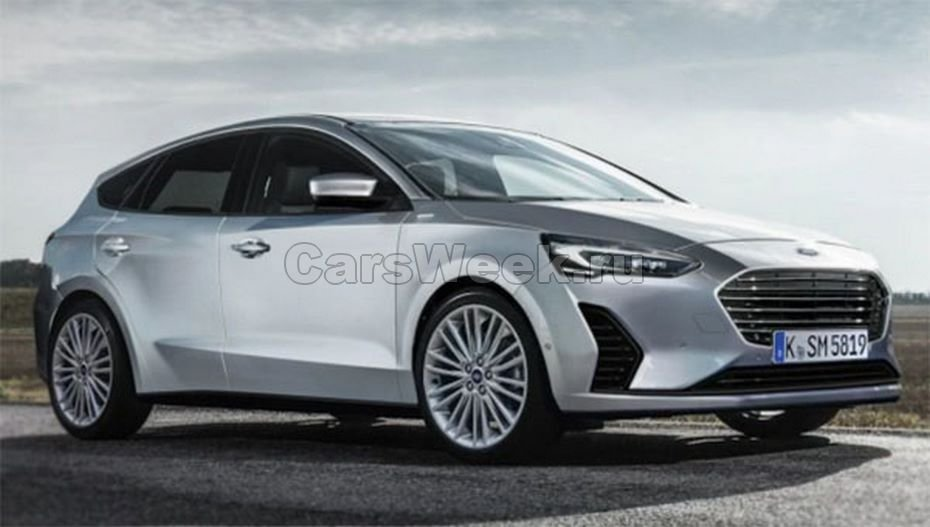 Форд Focus обновленного поколения замечен на трассах общего пользования