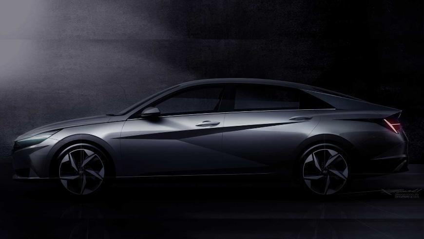 Седан Hyundai Elantra 2021 года дебютирует 17 марта в Голливуде