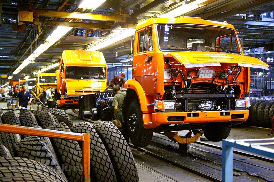 За первое полугодие КАМАЗ выпустил 16 500 грузовиков