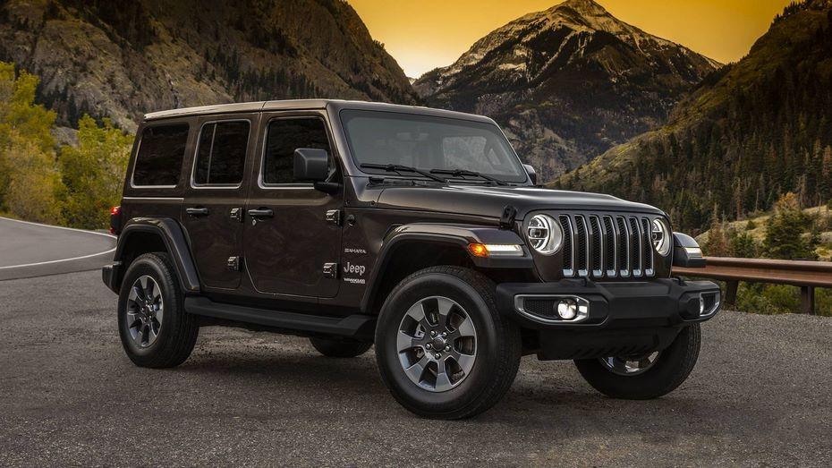 Объявлена стоимость нового джипа Jeep Wrangler