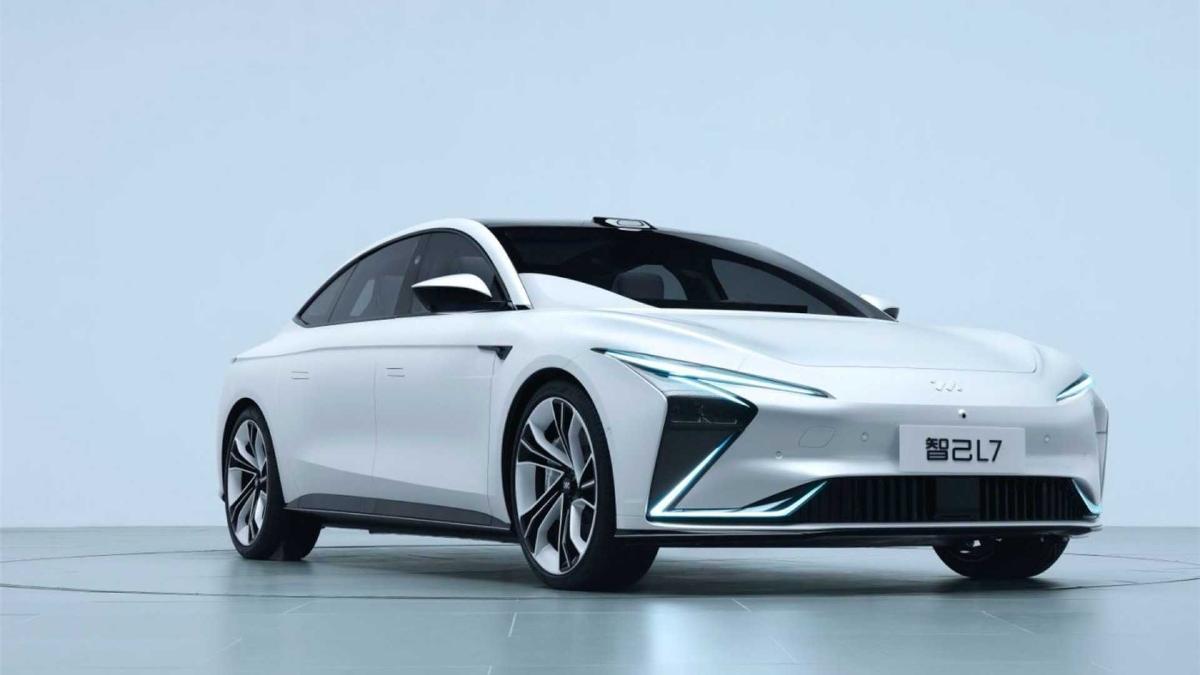 Китайский Zhiji L7 или электромобиль с запасом хода в 1000 км