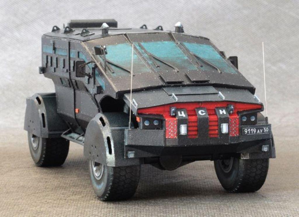 Для ФСБ создали фантастическую машину «Фалькатус»