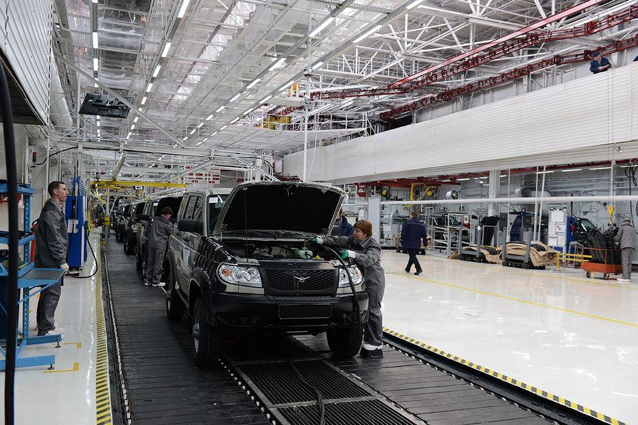 УАЗ начал новые тестирования авто потехнологии DURR