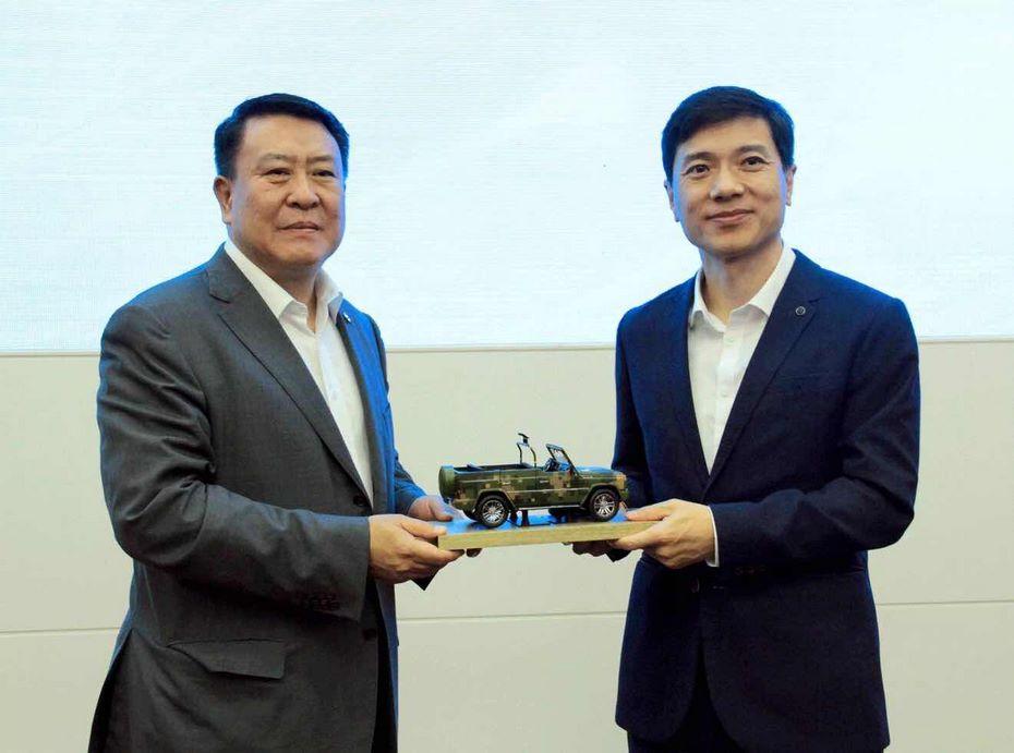 Две крупных китайских компании объединят усилия для создания автомобиля-беспилотника