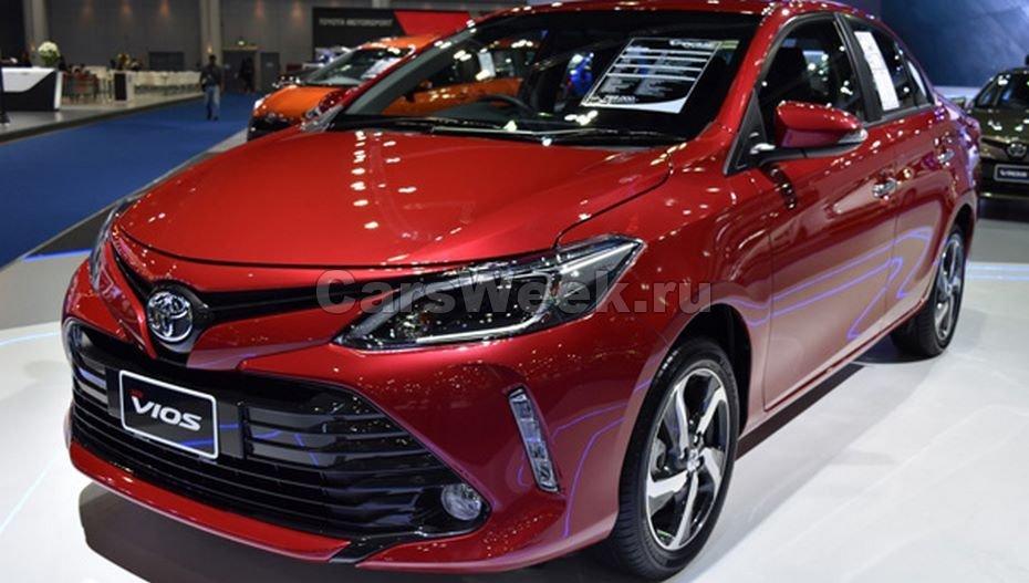 Новые Тоёта  Yaris и Тойота  Vios выйдут в 2018г