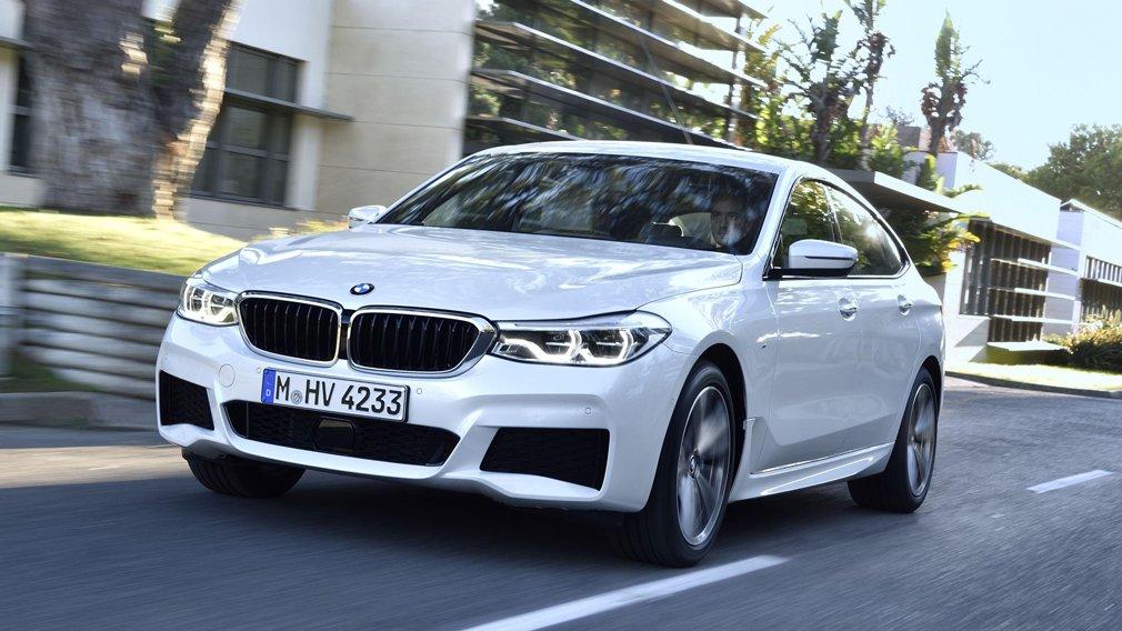 В интернете появились первые изображения обновленной BMW 6 Series GT