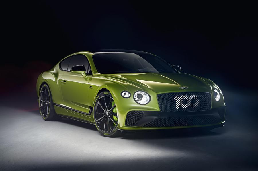 Bentley представил лимитированную серию Continental GT W12