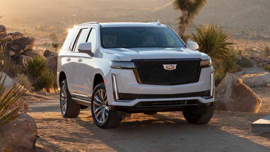 Продажи новых внедорожников Cadillac Escalade и Chevrolet Tahoe в России начнутся летом 2021 года