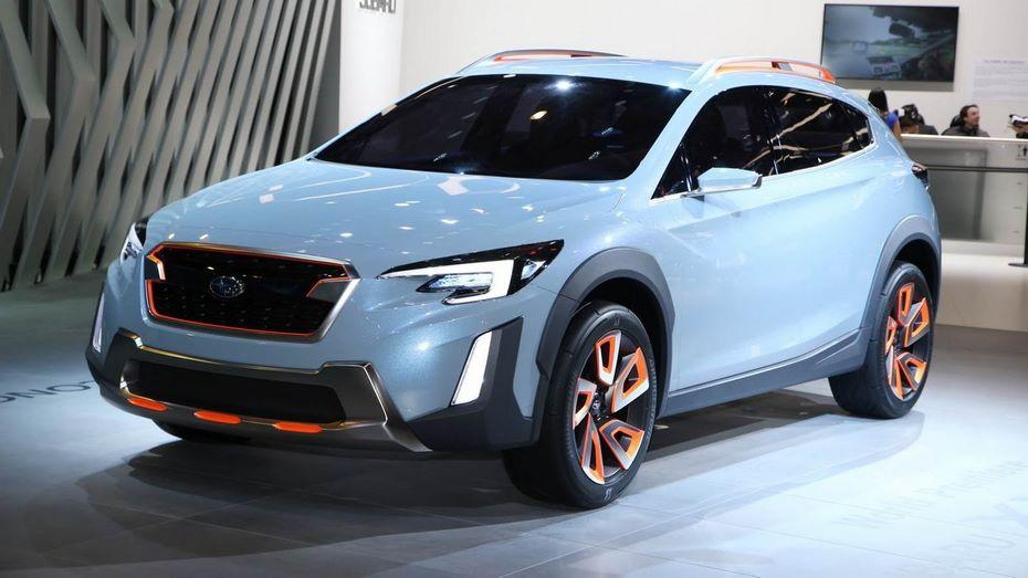 В РФ стартуют продажи нового Субару XV