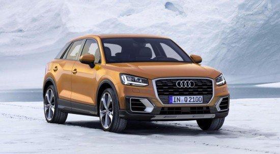России появится абсолютно новый Audi Q2