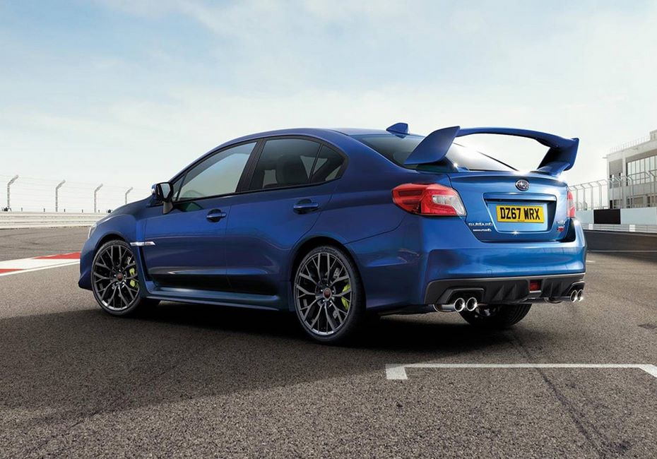Subaru представила публике прощальную версию WRX STI