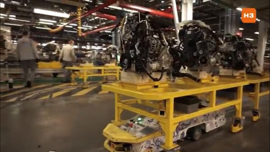 Конвейер по производству автомобилей гур на транспортер т3