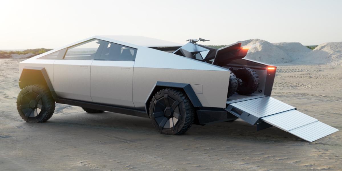 Нашумевший пикап Tesla Cybertruck получит порцию обновлений ещё до выхода на рынок