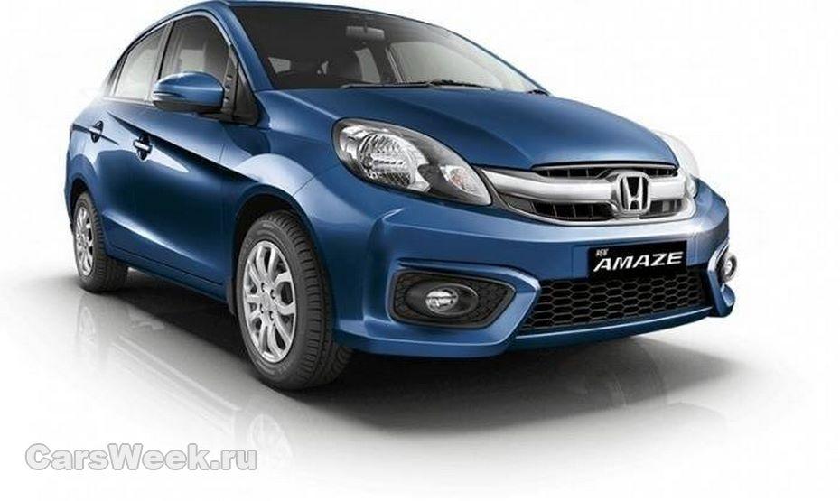 Бюджетный седан Хонда Amaze готовится кпремьере