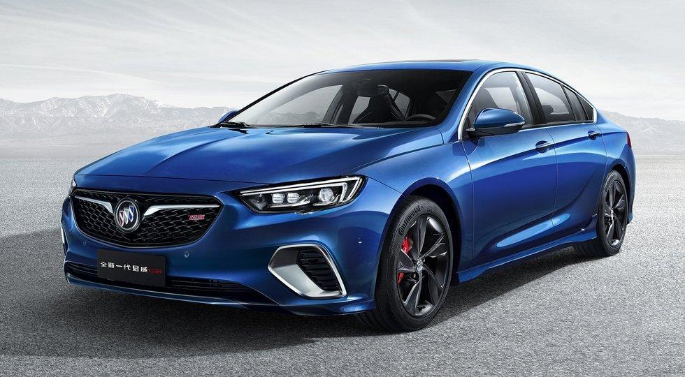 Как бы выглядел заряженный Opel Insignia