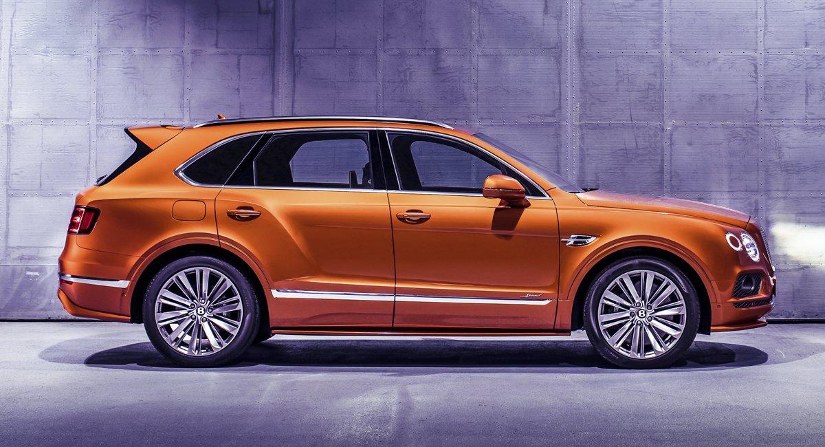 Новый Bentley Bentayga Speed официально стал самым быстрым кроссовером