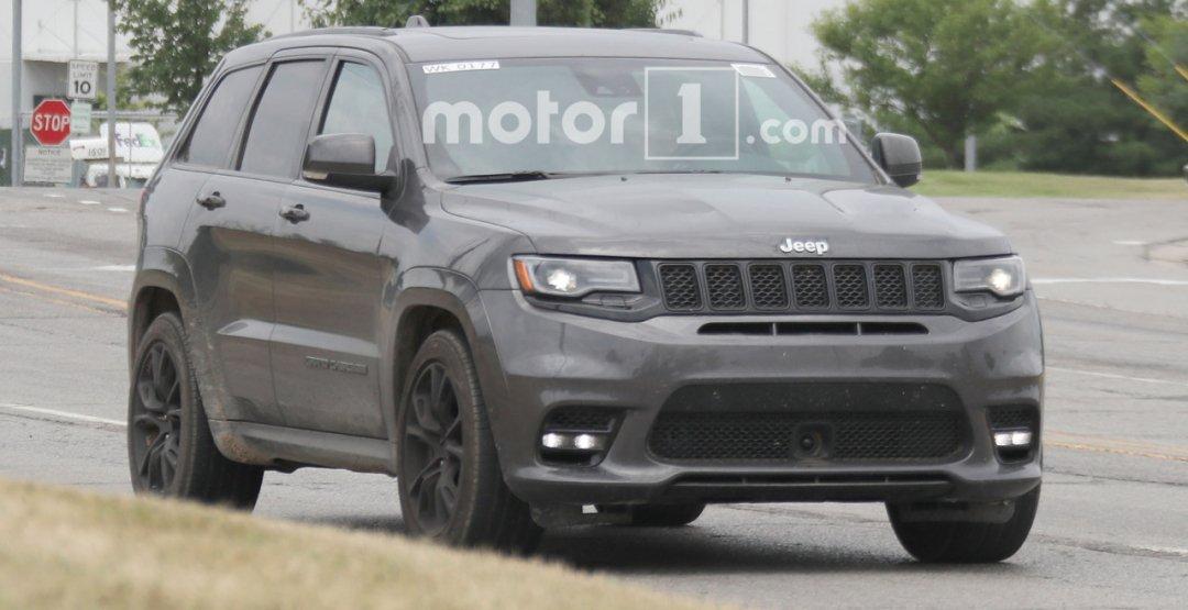 700-сильный Jeep Grand Cherokee покажут весной