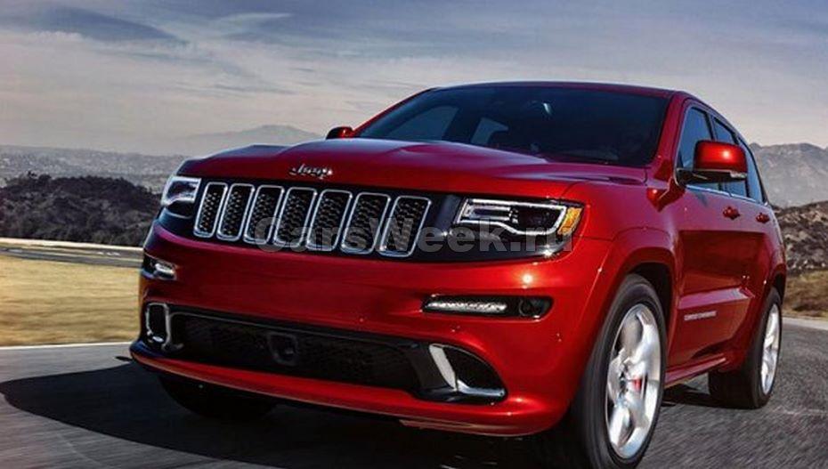 Jeep презентовала вседорожный автомобиль Grand Cherokee 2017