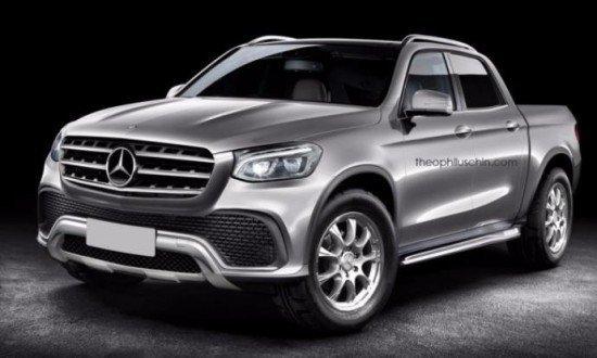 Осенью Mercedes Benz представит свой первый пикап
