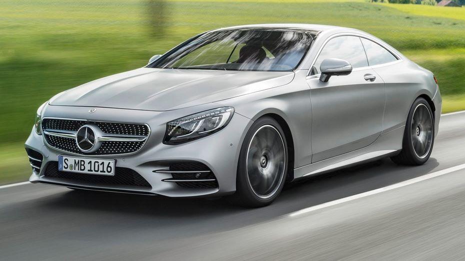 Объявлены русские цены на улучшенный Mercedes S-Class Coupe