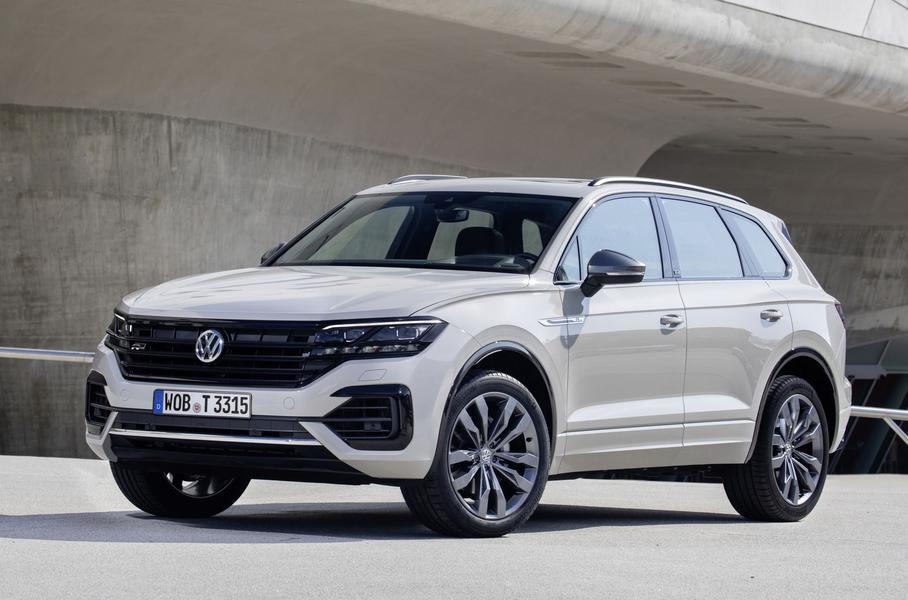 Volkswagen выпустил юбилейный миллионный Touareg
