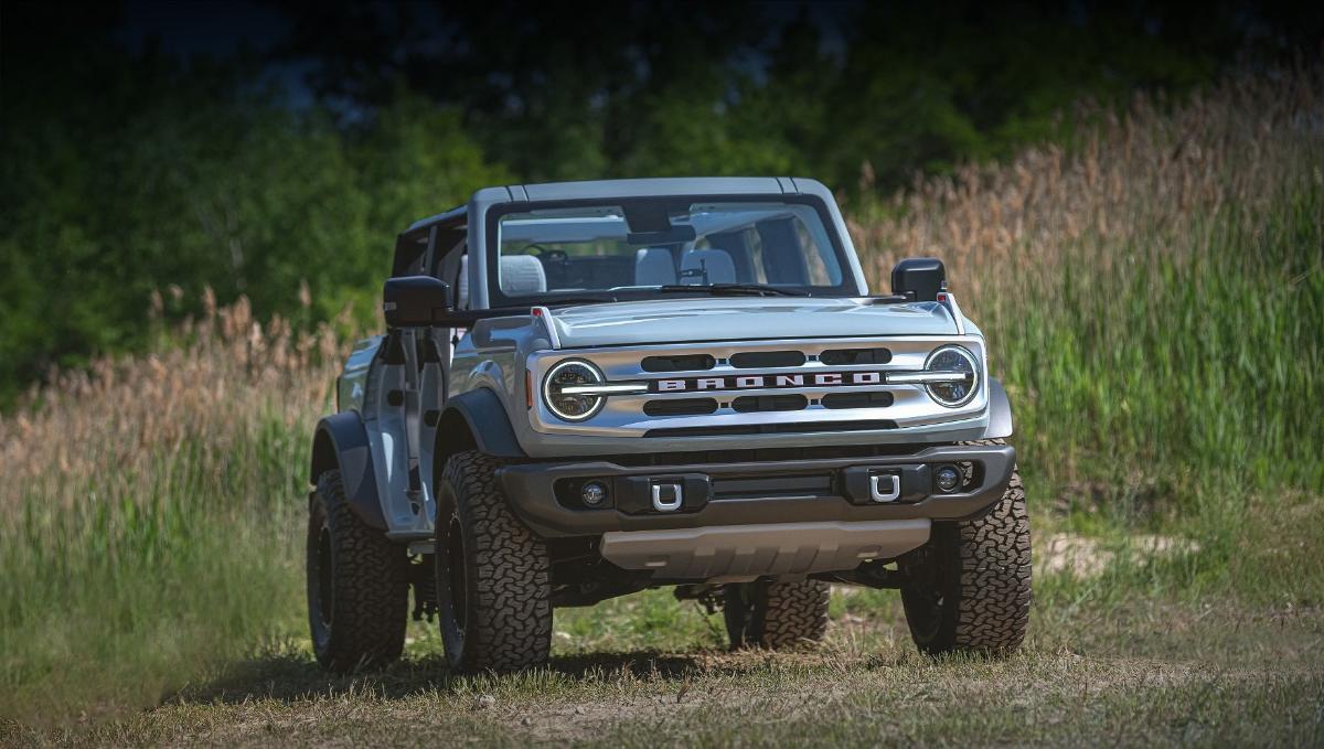 Кроссовер Ford Bronco Sport обзавёлся аксессуарами для активного отдыха