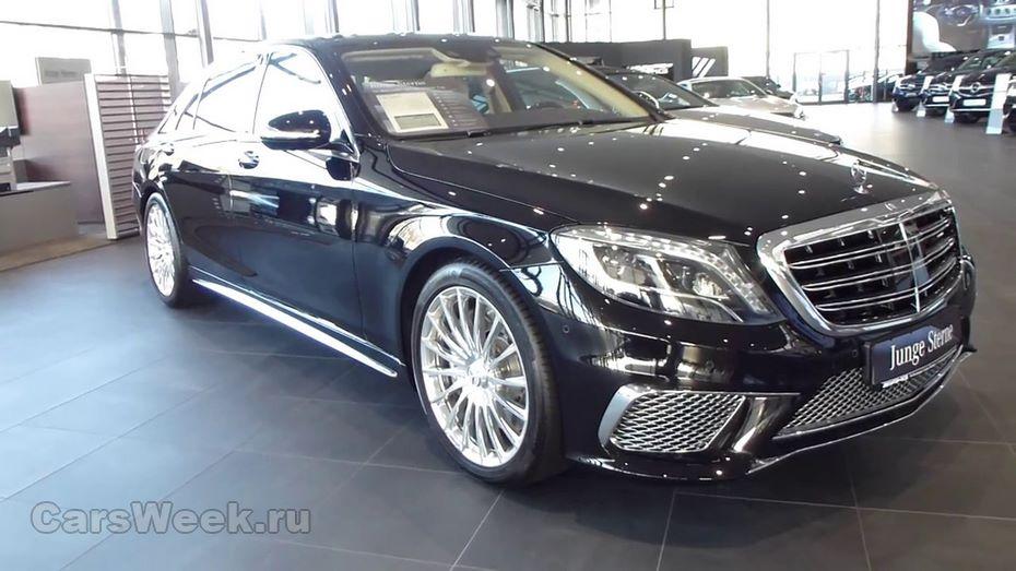 Daimler озвучил стоимость новой версии Mercedes Benz S-Class V12