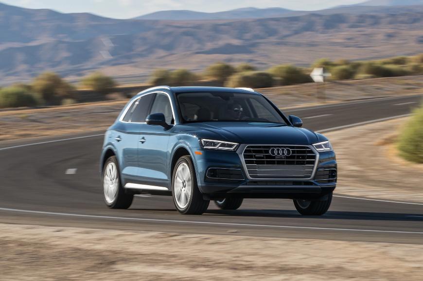 Компания Audi отзывает в России свыше 6,6 тыс. кроссоверов Audi Q5