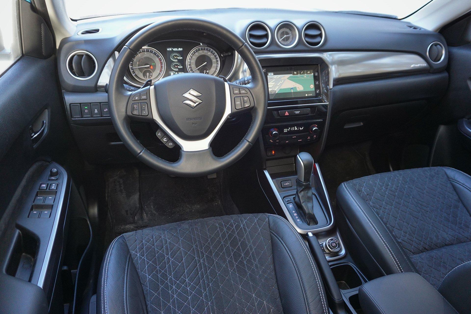 Кросс-хэтч: тест Suzuki Vitara