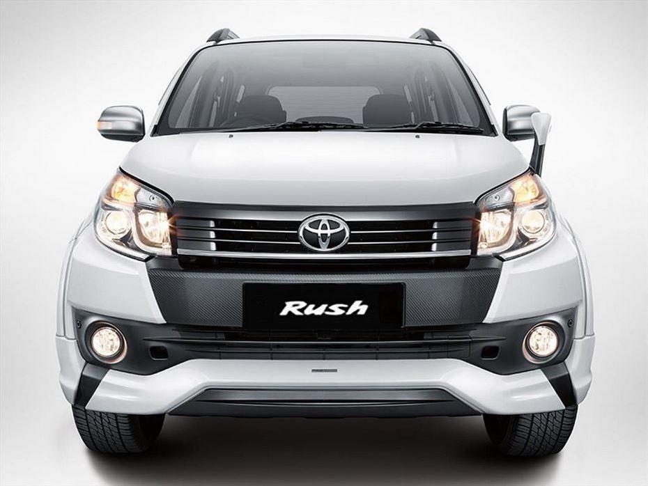 Опубликованы изображения нового Toyota Rush