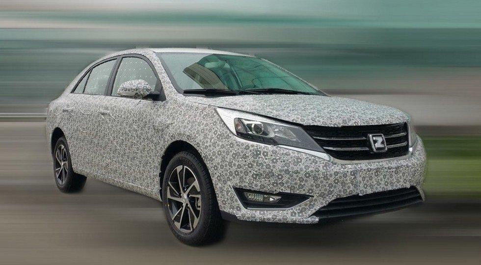 Zotye запустила втестовый период седан, который продаётся в Российской Федерации