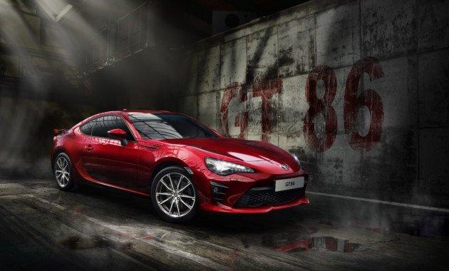 Обновленная версия модели Тойота GT86 выйдет в 2019г
