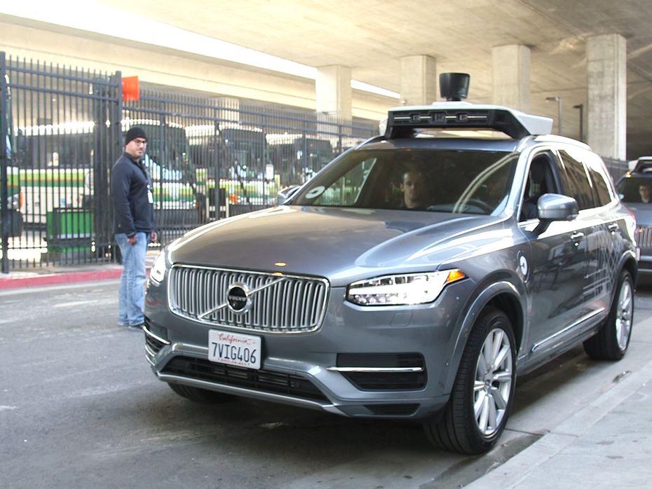 Uber купит у Вольво 24 тысячи беспилотных авто