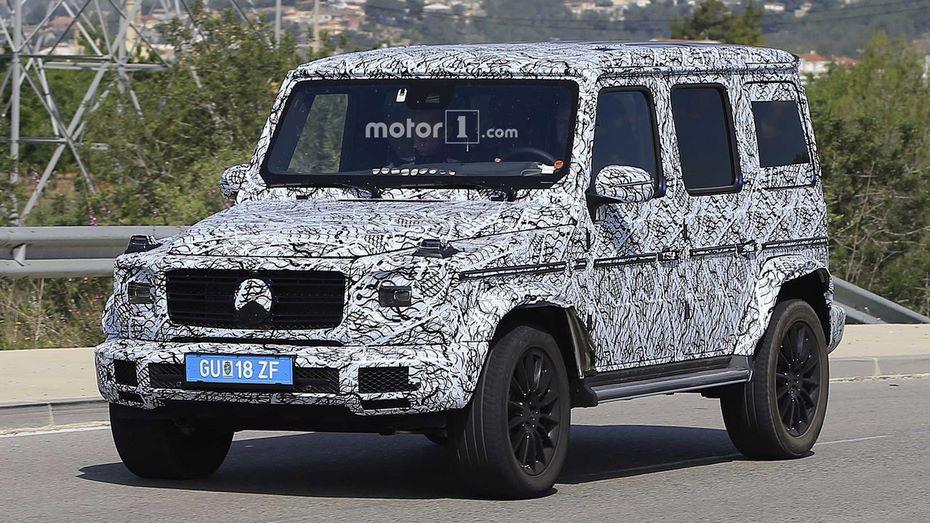Benz G-Class обустроят фронтальной независимой подвеской