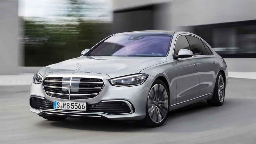 В России стартовал сбор заказов на седан Mercedes-Benz S-Class с агрегатом V8