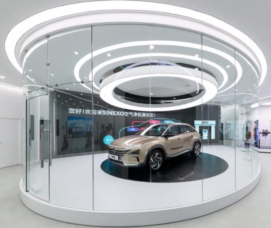Hyundai представит электрический кроссовер на топливных элементах