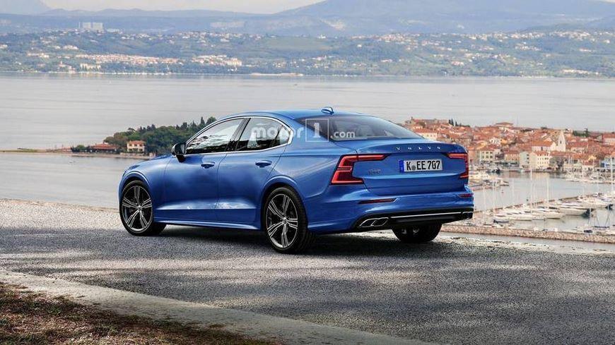 Первые фотографии нового седана Volvo S60
