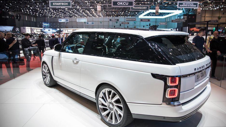 В Российской Федерации открыт предзаказ наRange RoverSV Coupe
