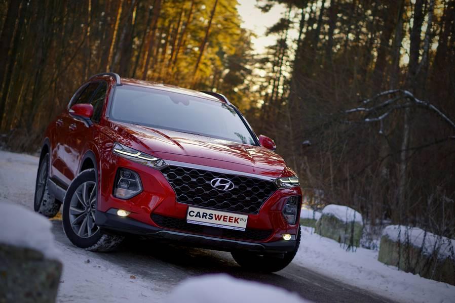 Тест-драйв Hyundai Santa Fe четвертого поколения