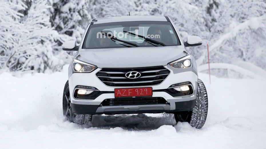 Hyundai вывел на испытания новый кроссовер Genesis