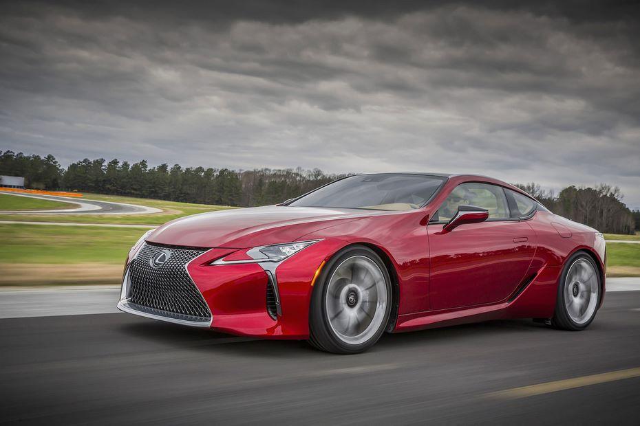Новое спорткупе Lexus LC получит мотор на 630 лошадиных сил