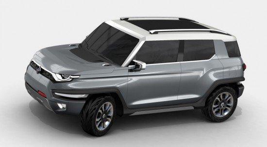 Компания Сан Ёнг выпустит новый джип в 2019г