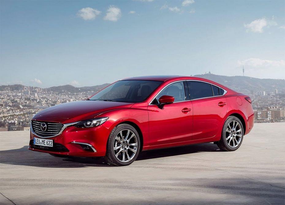 Mazda 6 2018 модельного года появилась в продаже