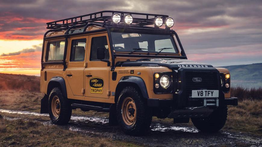 Лимитированную серию внедорожника Land Rover Defender раскупили всего за 72 часа