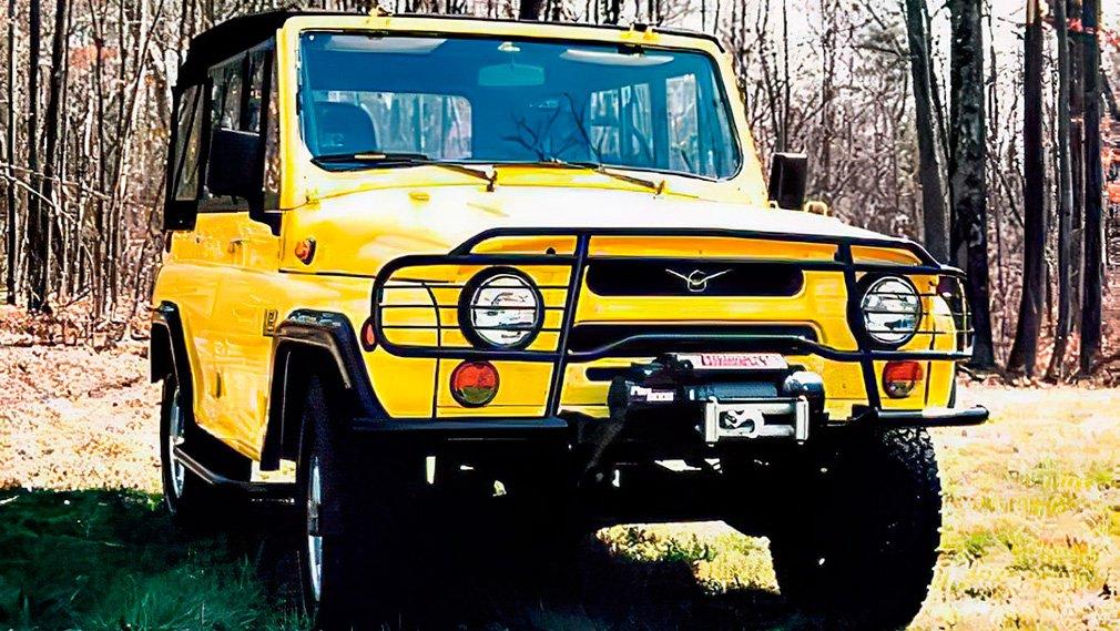 В Сети интернет вспомнили об УАЗ-31512 для американского рынка