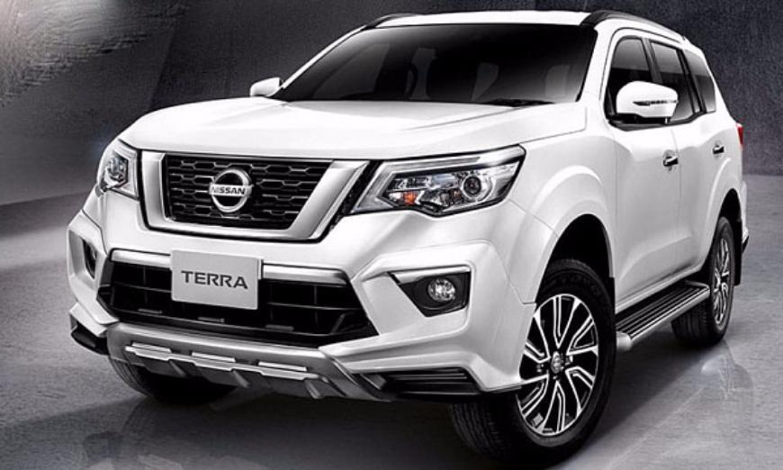 Обновленный внедорожник Nissan Terra показали на официальных фото