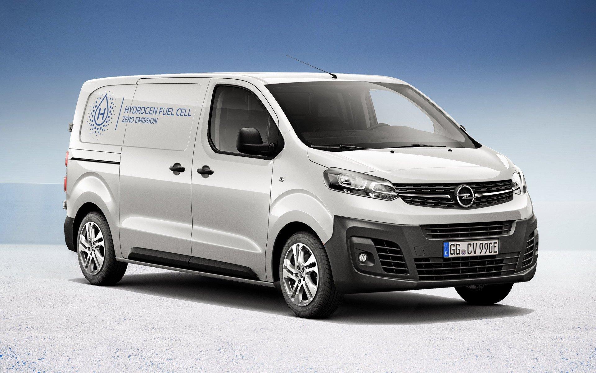 Новый Opel и Vauxhall Vivaro-e получил водородный агрегат с запасом хода на 400 км