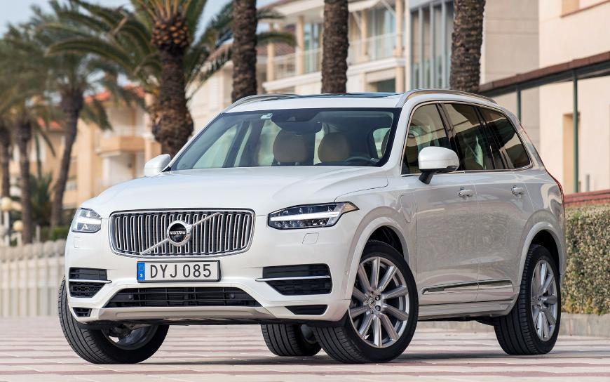 Кроссовер Volvo ХС90 нового поколения станет автономным