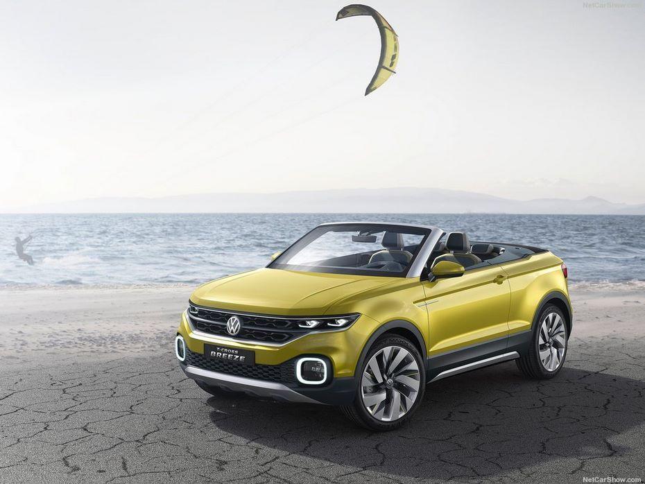VW T-Roc превратится вкабриолет