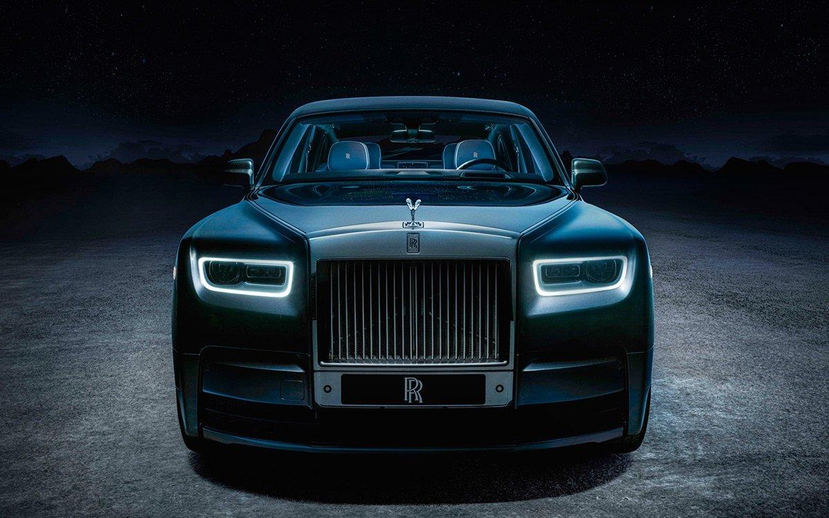 Бренд Rolls-Royce представил ограниченную спецверсию седана Phantom Tempus